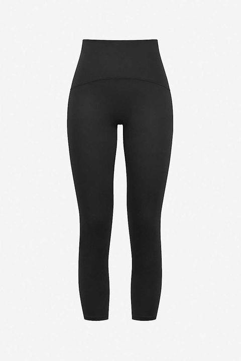 spanx active booty boost crop high rise stretch jersey leggings  £7800