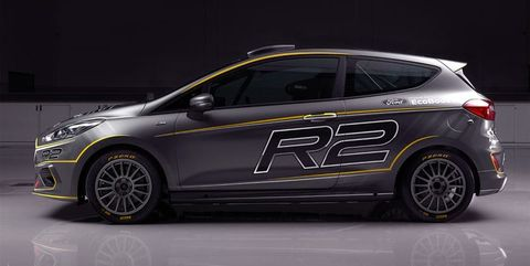 2019 Ford Fiesta R2 Rally Car Revealed New Europe Only M Sport