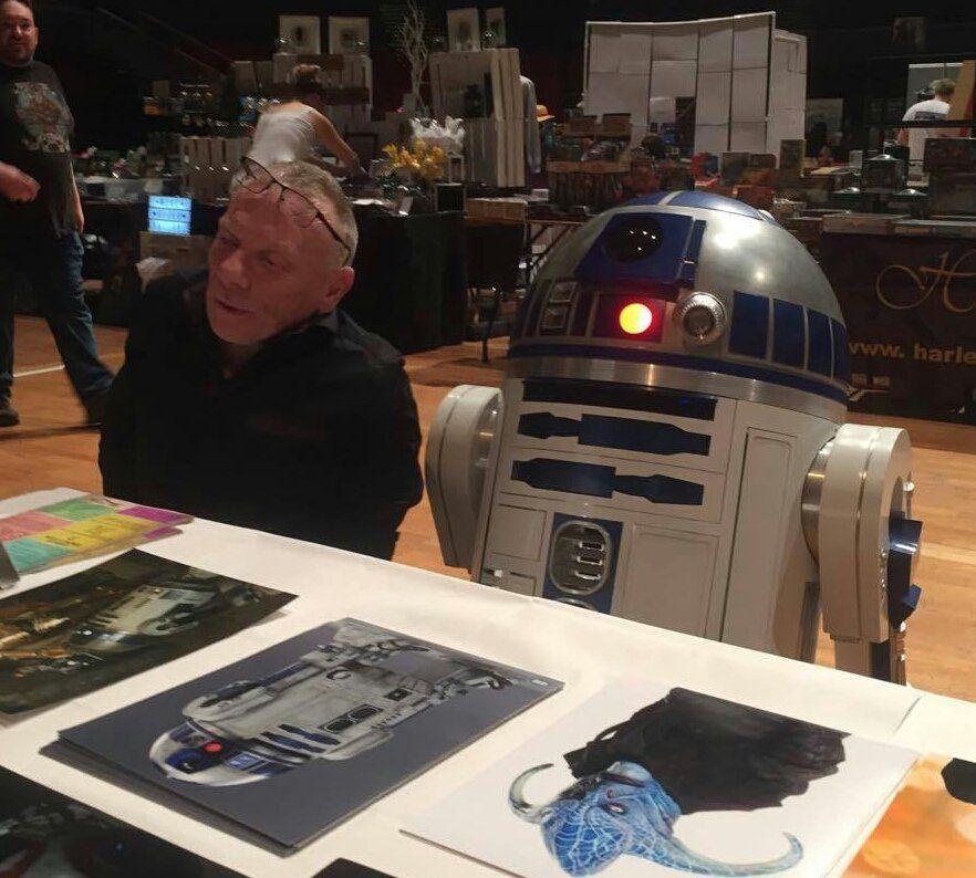 R2-D2 se despide del rodaje de 'Star Wars: Episodio IX'