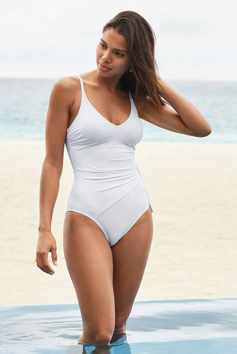 Figleaves white swimsuit