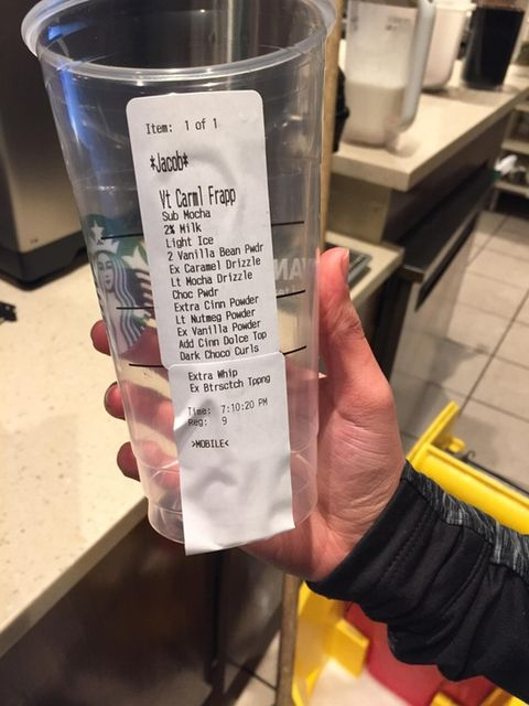 Insane Starbucks Orders Craziest Starbucks Orders Ever