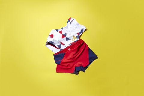 White, Red, Yellow, Illustration, Flag, T-shirt, Carmine, Sleeve,