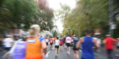 Generic Blurry Race Shot