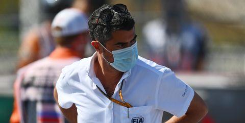michael masi, director de la carrera de la fia en fórmula 1