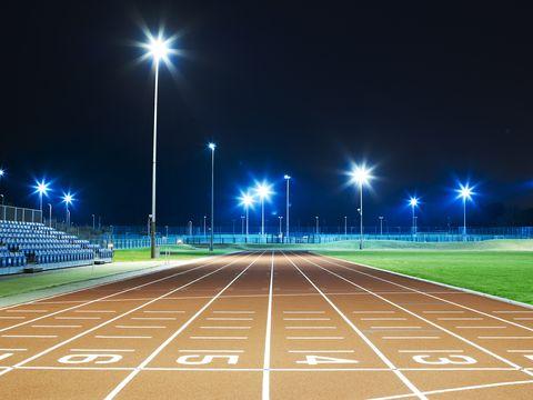 imagen de una pista de atletismo de un centro de alto rendimiento