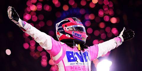 Sergio Checo Pérez Victoria Racing Point Gran Premio Sakhir 2020