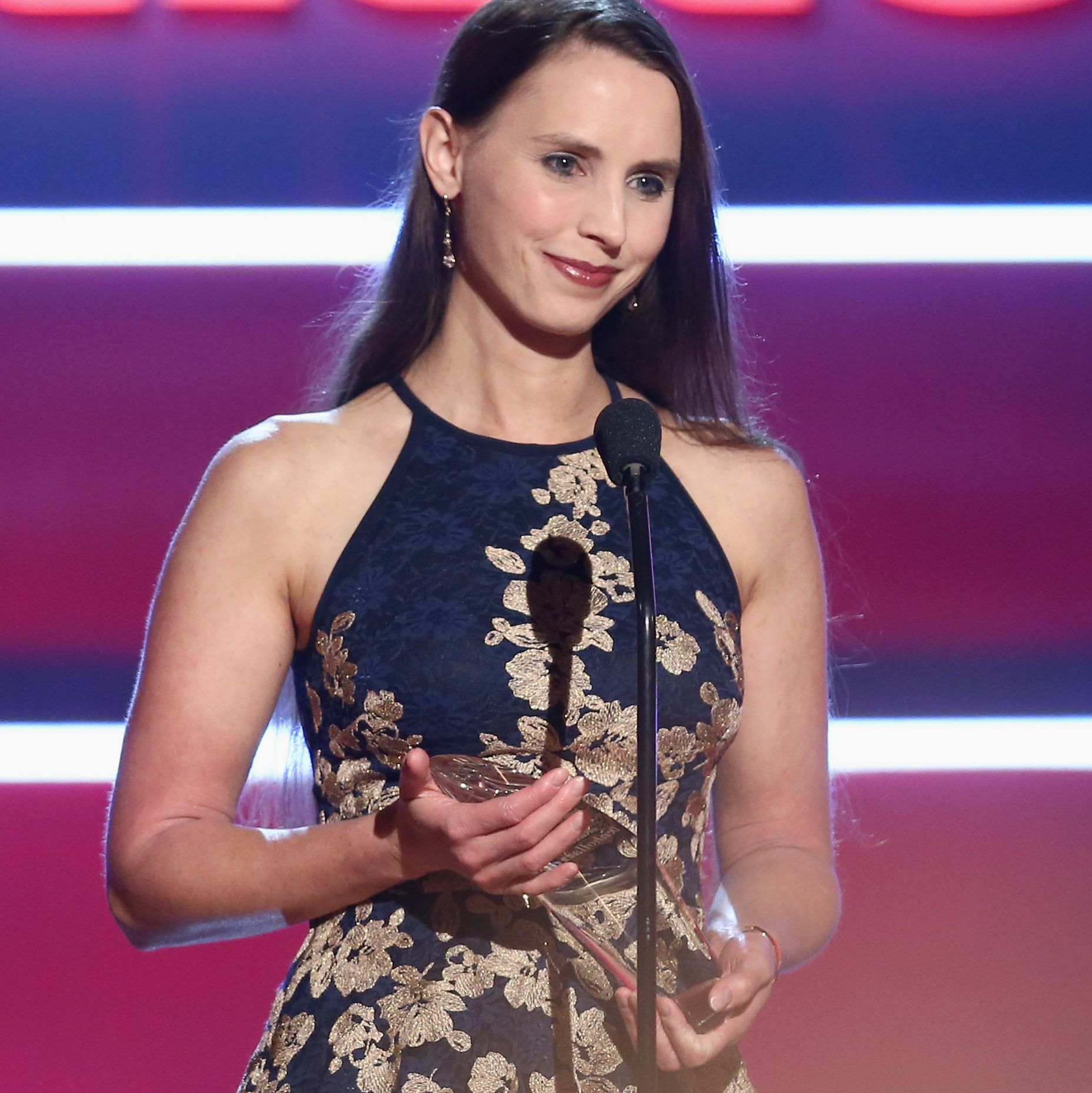 Dr. Christine Blasey Ford Presents Rachael Denhollander With Inspiration Award in Emotional Video