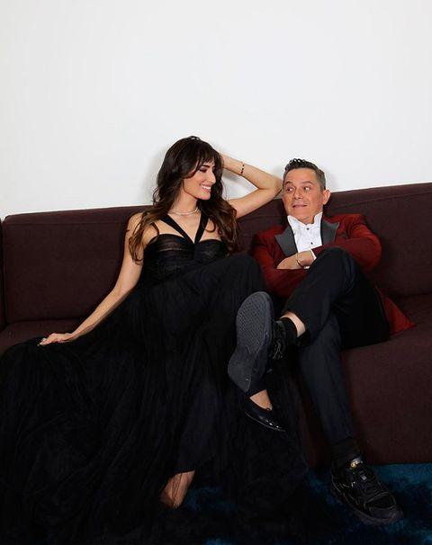 rachel valdes y alejandro sanz en los premios goya 2021