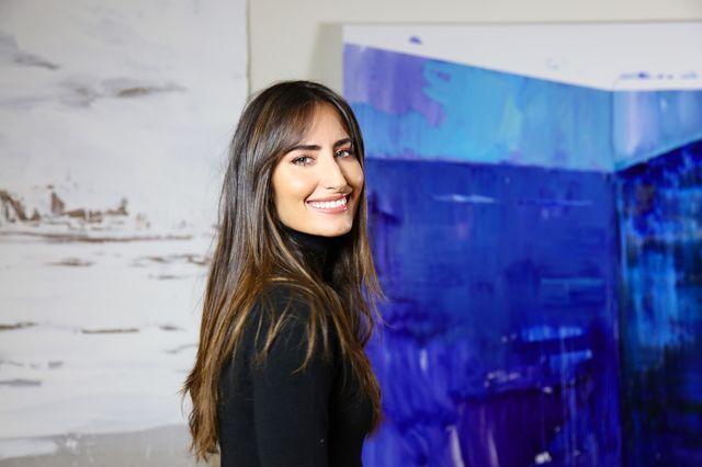 obras y estudio de la artista rachel valdés