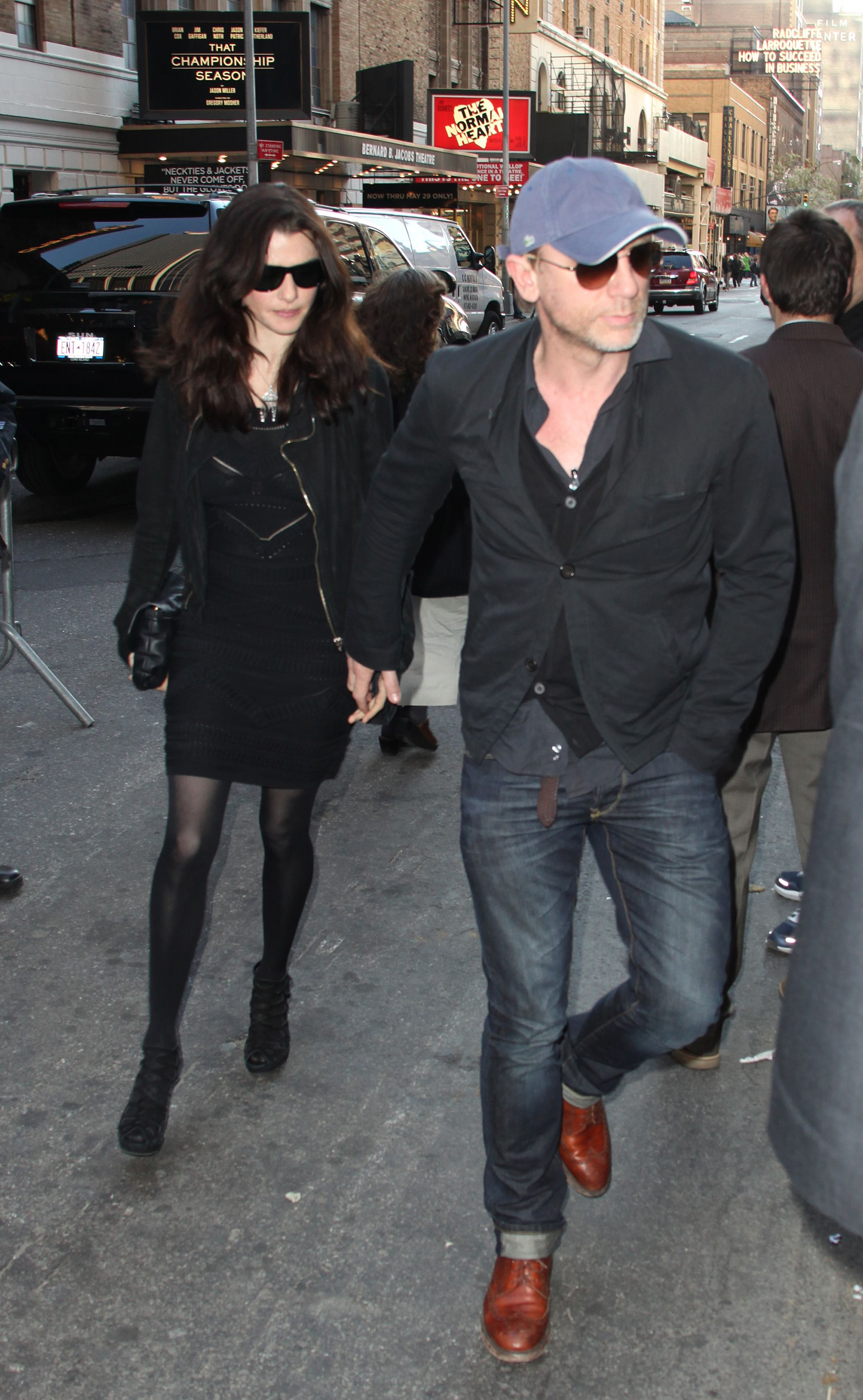 Daniel Craig and Rachel Weisz photographed in New York's theater district in 2011. Craig is expected to start filming the next Bond film, which is expected to be his last, in the coming months.