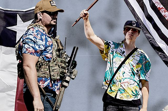 rightwing shitheads are trying to ruin hawaiian shirts now