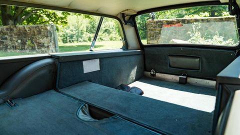 1966 aston martin db6 shooting brake interior