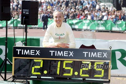 Paula Radcliffe's Long Goodbye