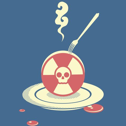 radiation pollution
