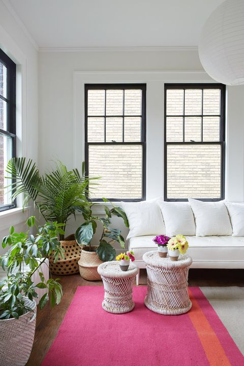 11 stylish radiator cover ideas creative ways to hide a - Living room plant ideas ...