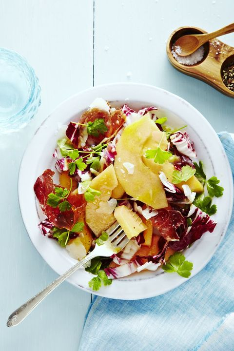 Radicchio Melon Salad - Memorial Day Side Dishes