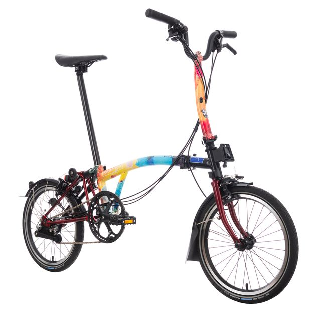 brompton auctions off 13 custom bikes for crew nation