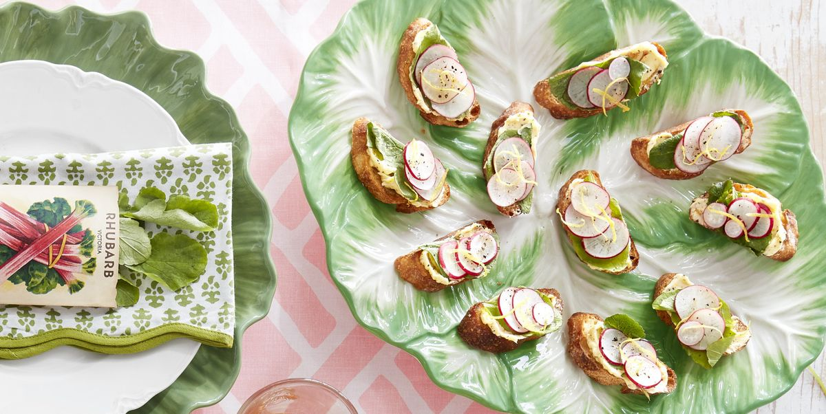 These Radish Leaf and Lemon Butter Toasts Make the Perfect Spring Appetizer
