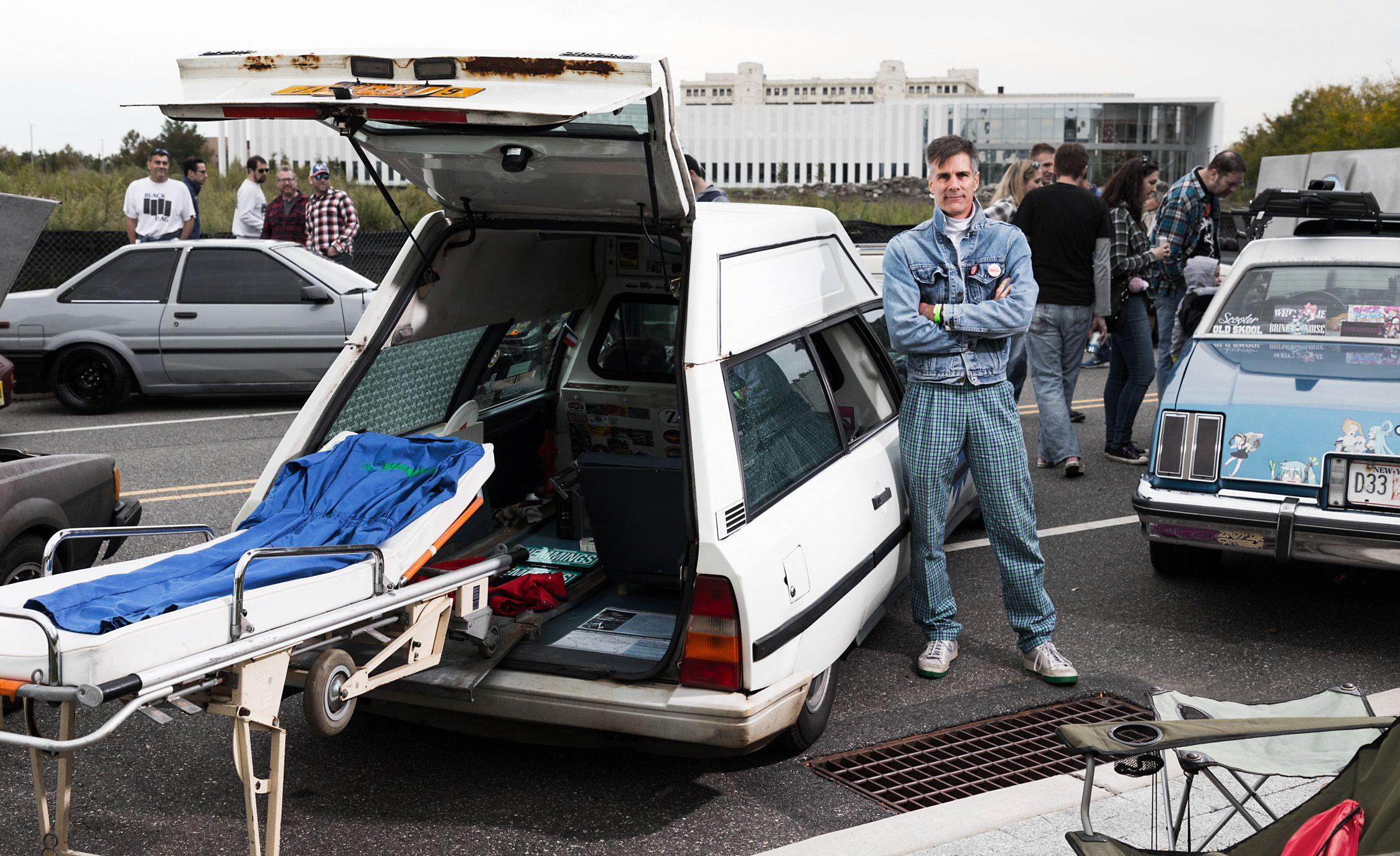 Citroën CX Heuliez ambulance
