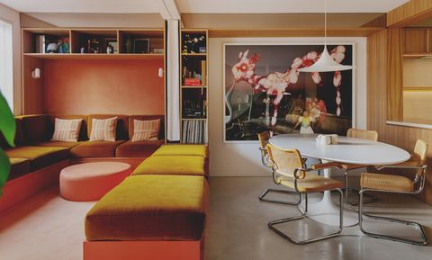 rae morris and ben garrett london home with 1970s style