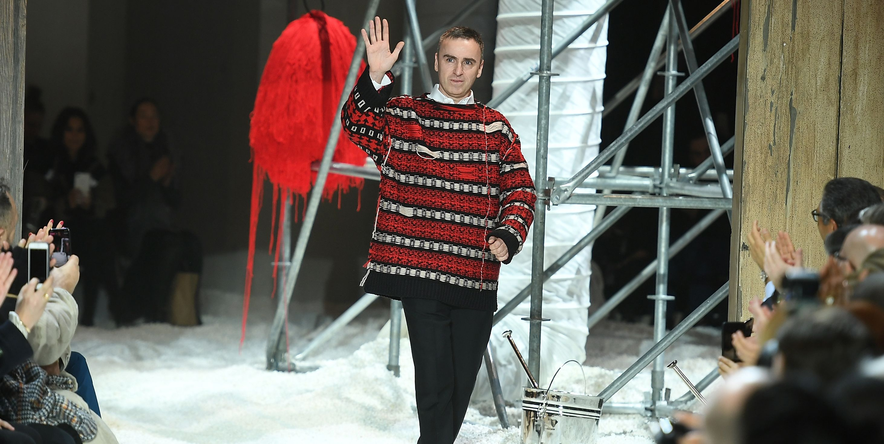 Raf Simons is leaving Calvin Klein