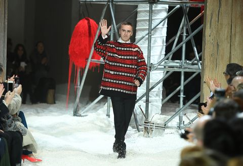 f1b1271ea9f8 Raf Simons is leaving Calvin Klein after two years