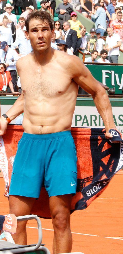 Rafa Nadal en el torneo Roland Garros