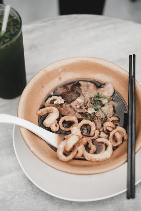 Food, Dish, Cuisine, Ingredient, Comfort food, Recipe, Produce, Chinese food, Noodle soup, Soup,