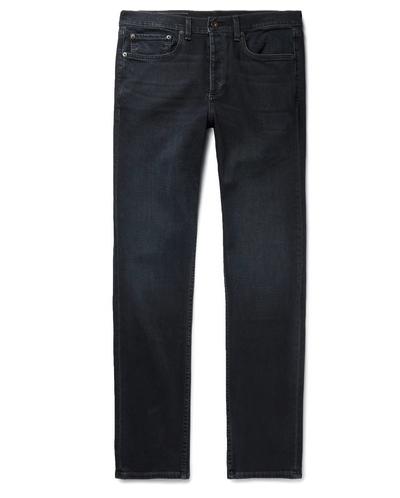 Rag & Bone pantalon negro, pantalon negro hombre, pantalon negro slim fit