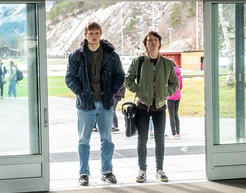 Protagonistas deRagnarok, serie de Netflix.
