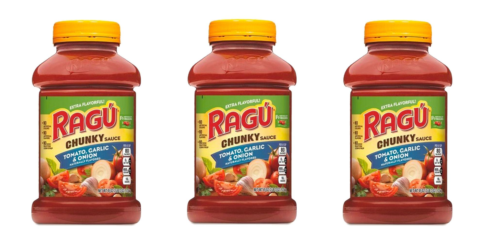 Three Flavors Of Ragu Pasta Sauce Were Recalled For Possibly Containing Fragments Of Plastic