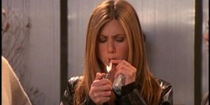 smoking, Rachel from Friends