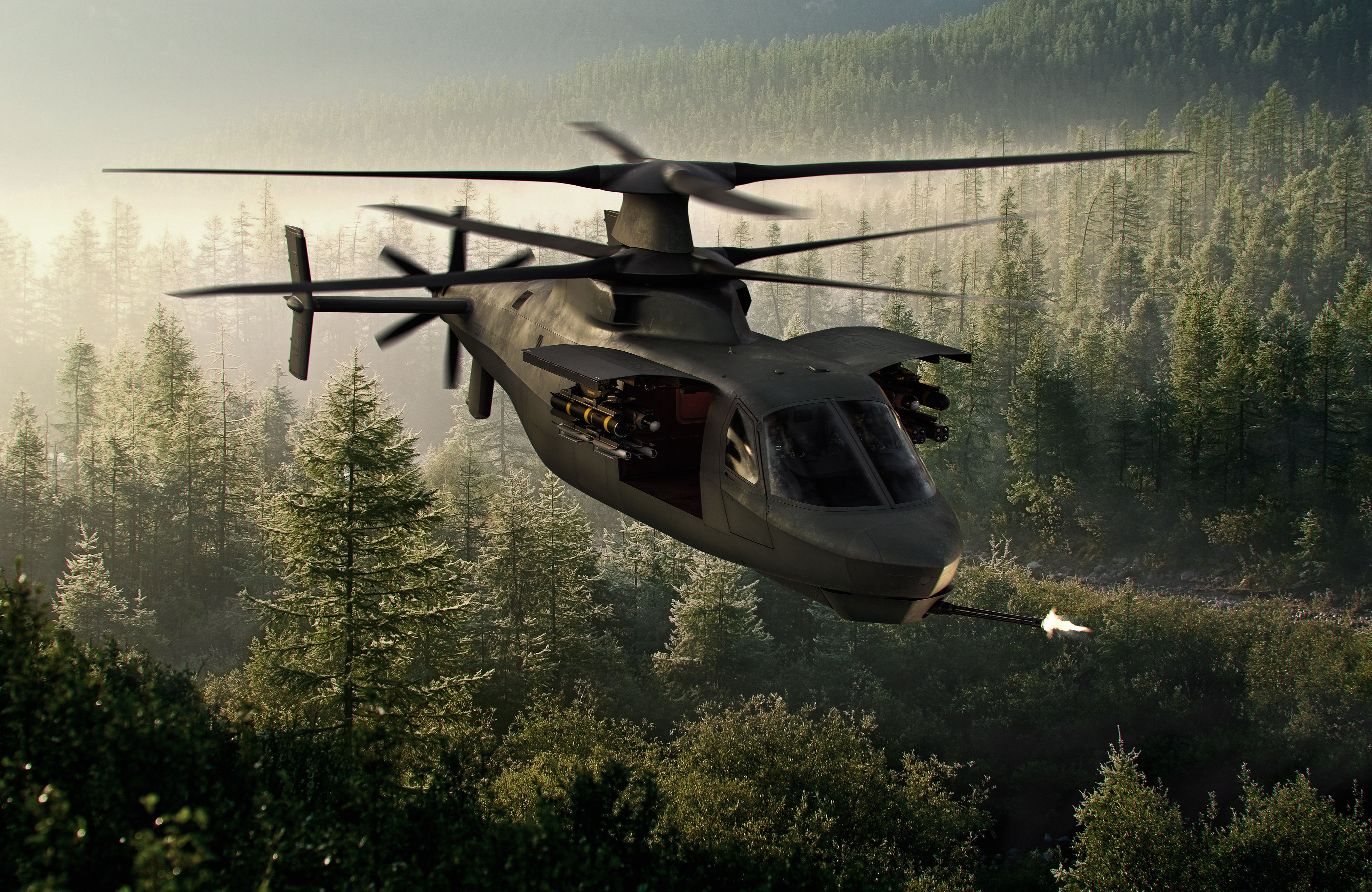 The Army's New Recon Chopper Is Beginning To Take Shape