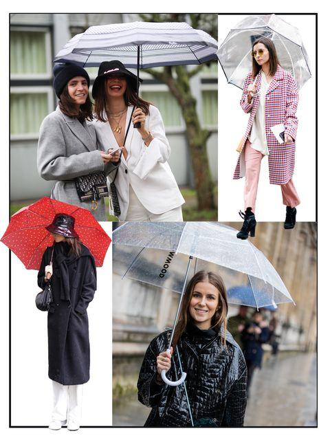 雨の日コーデ,傘,レイングッズ