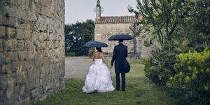 This tool will calculate the chance of rain on your wedding day