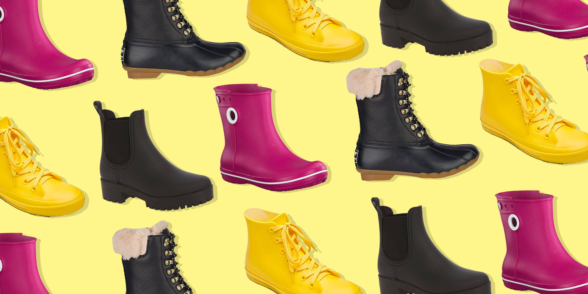 vibrant styles and rain boots