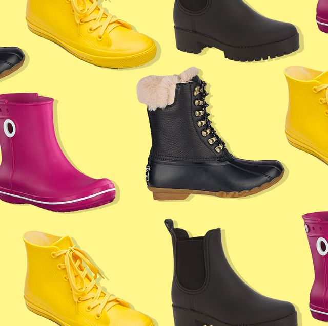 Footwear, Yellow, Shoe, Boot, High heels, Steel-toe boot, Outdoor shoe, Athletic shoe,