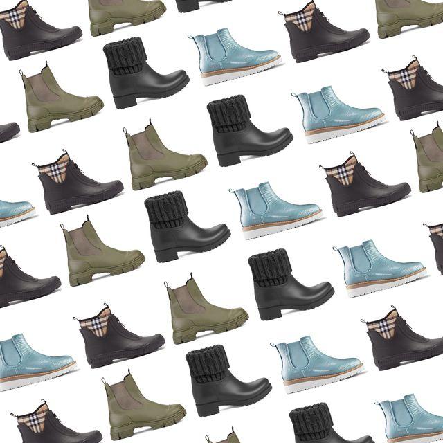 moncler, ganni, burberry, cougar rain boots