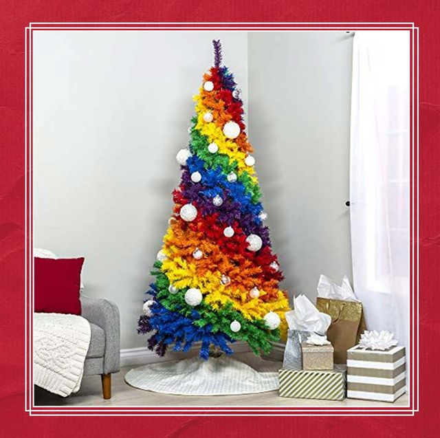 10 best rainbow christmas trees 2019 shop artificial rainbow christmas trees here 10 best rainbow christmas trees 2019