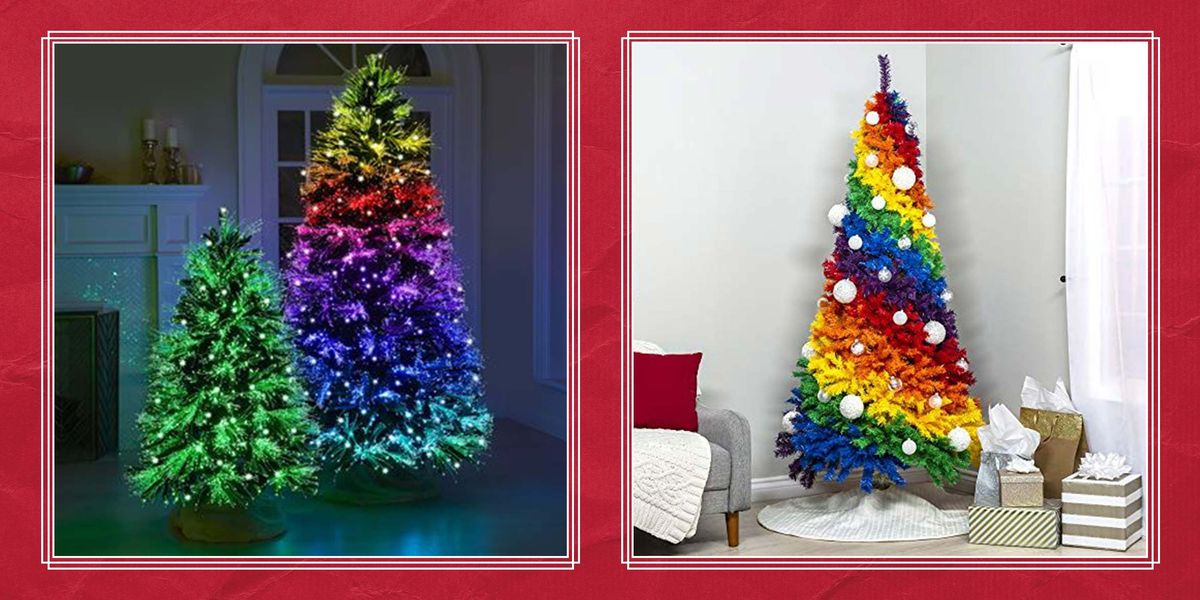 10 Best Rainbow Christmas Trees That'll Make Your Holiday so Much More Colorful