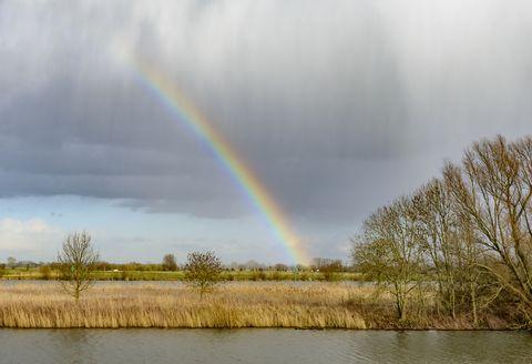 Een regenboog heeft meer dan zeven kleuren