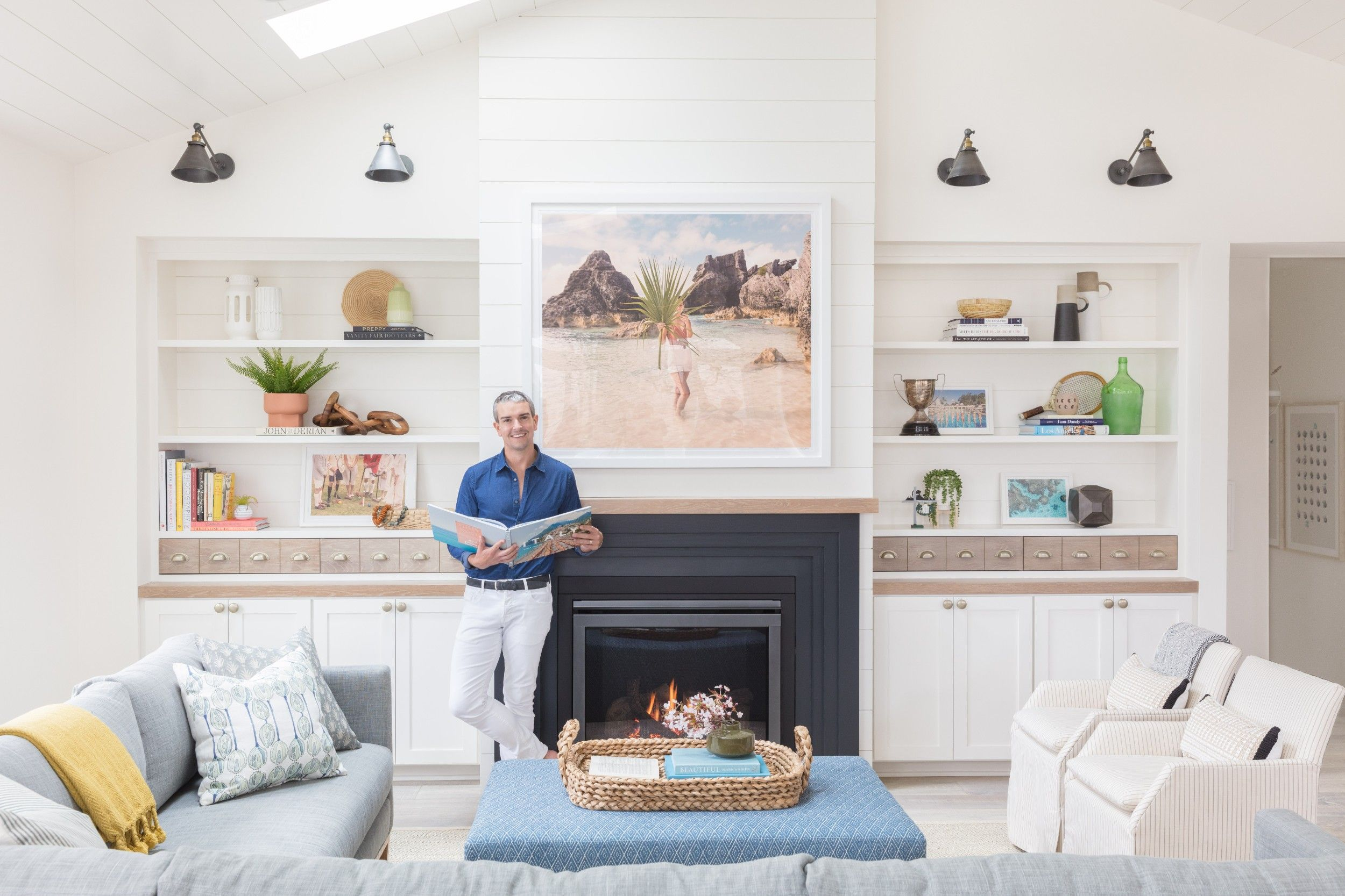 See How Gray Malin Turned a Fixer-Upper Into a Dreamy Lake House