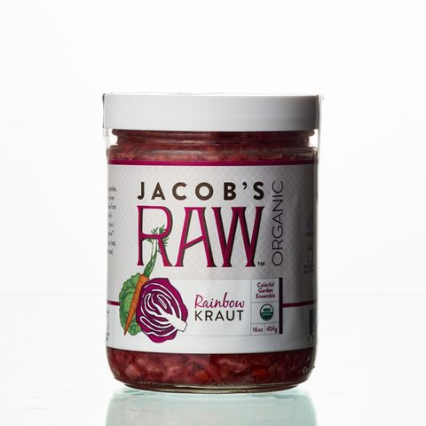 Jacob's Raw Organic Rainbow Kraut