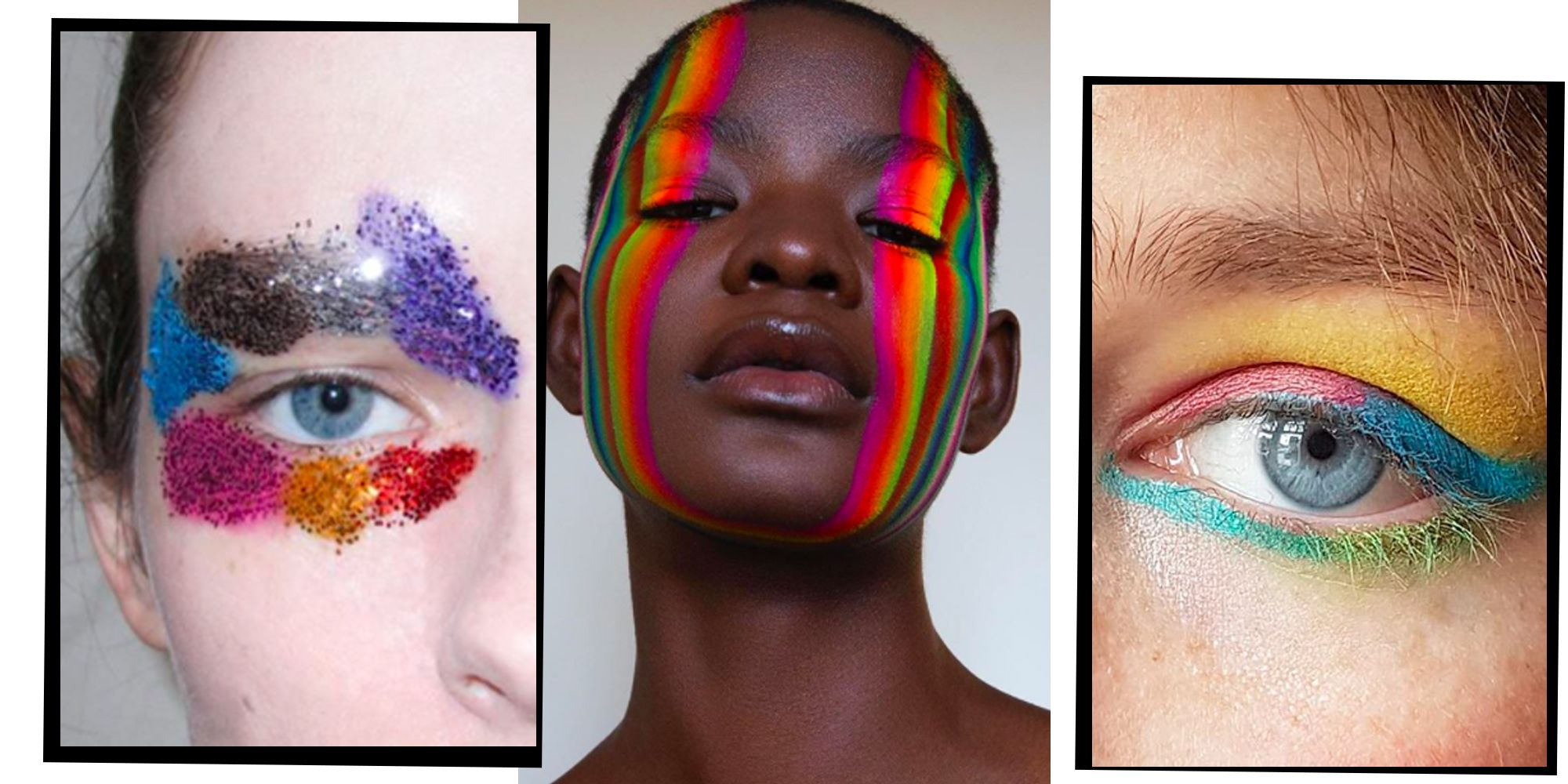 13 Rainbow Make Up Ideas So You Can Wear Your Love For Pride On Your Face