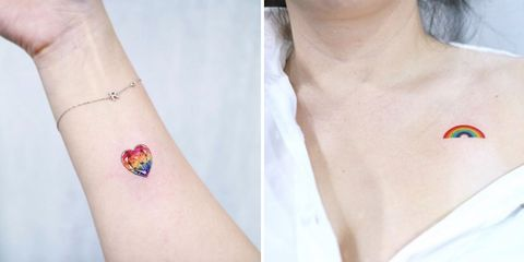 31bbd08db Rainbow Tattoo Ideas And Designs To Show Your Pride This Month