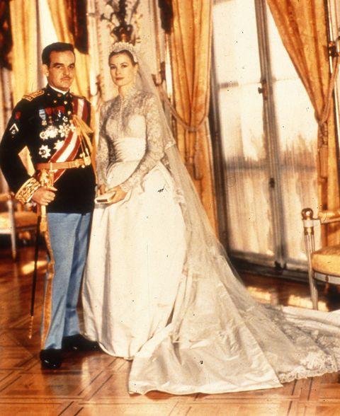 BodaRainiero de Mónaco y Grace Kelly