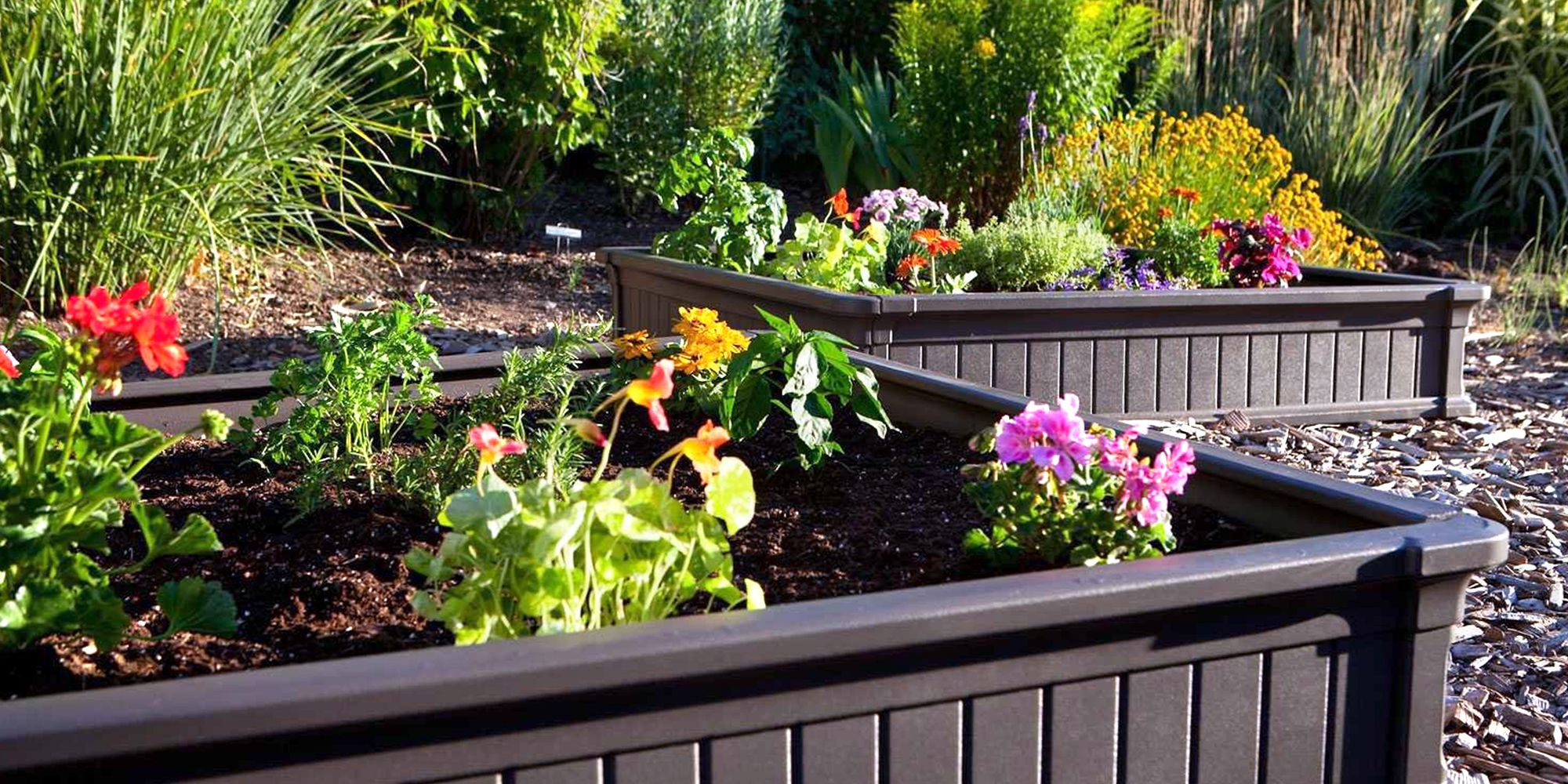 Lifetime Raised Garden Flower Beds Best 2018