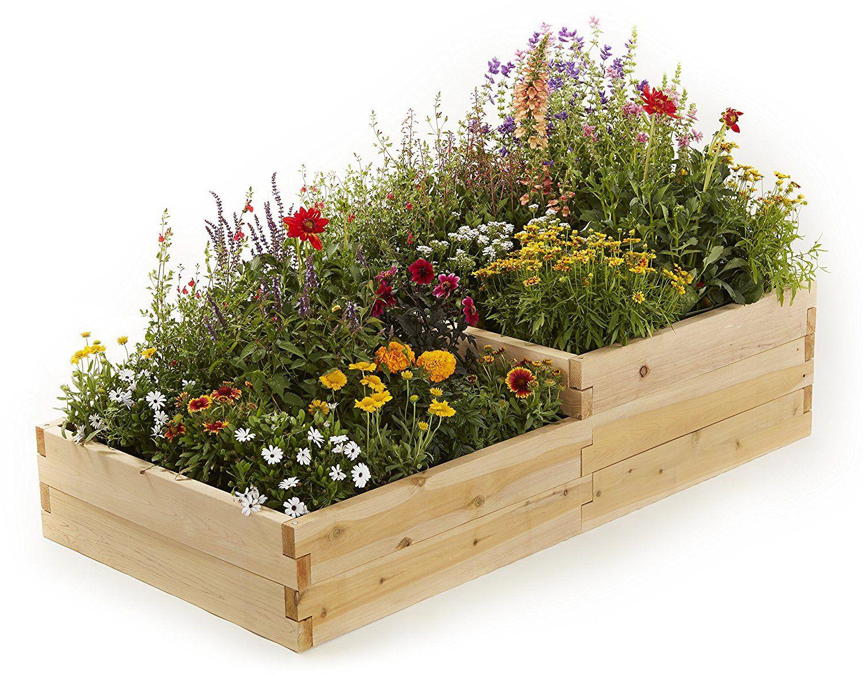 raised garden beds multilevel bed
