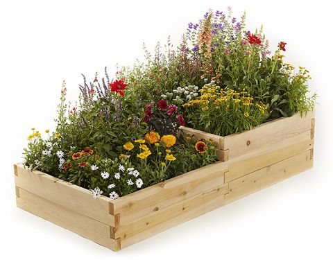 raised garden beds multilevel bed
