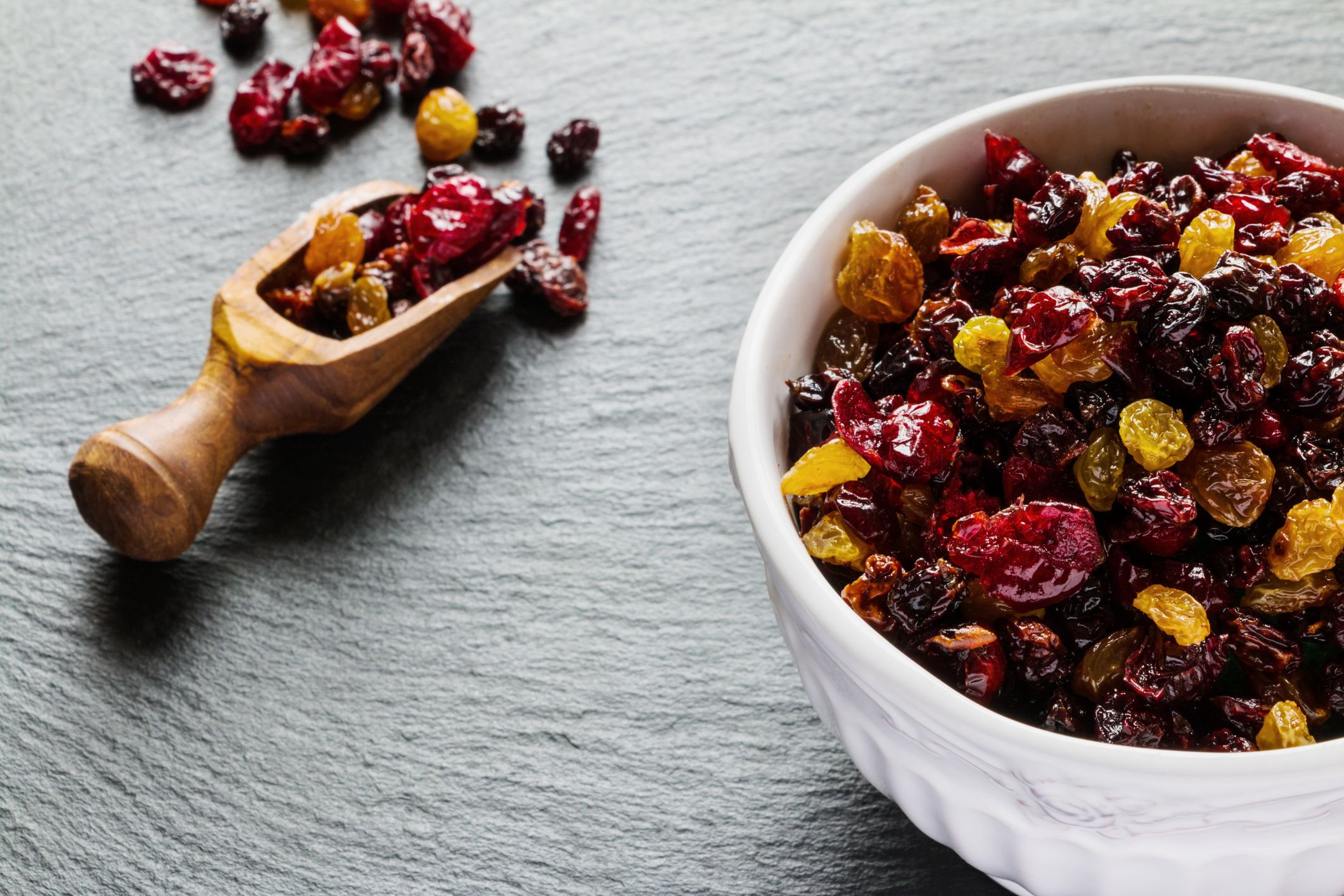 what's healthier: raisins or dried cranberries?